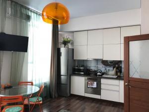 Кухня или мини-кухня в Отель Монблан