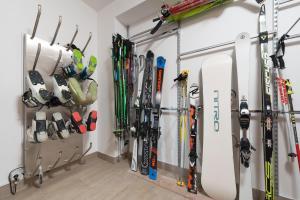 Fitnes oz. oprema za telovadbo v nastanitvi Apartments Budinek