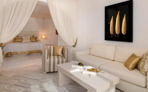 A seating area at Gold Suites - Small Luxury Hotels of the World