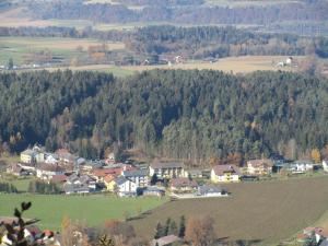 A bird's-eye view of Hotel Garni Gästehaus Hutter
