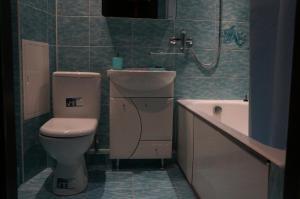 A bathroom at Apartment on Novoselov, 48 k 3