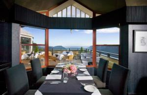 A restaurant or other place to eat at Echoes Boutique Hotel & Restaurant