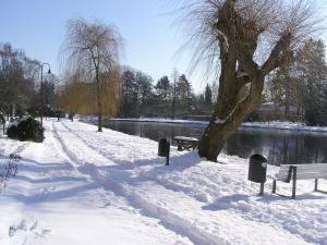 PARKHOTEL - Rosarium im Winter
