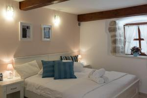 A bed or beds in a room at Apartment Stulli 1