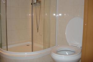 Koupelna v ubytování Penzion Seidl