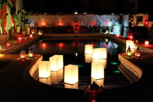 The swimming pool at or near The Riad Azure
