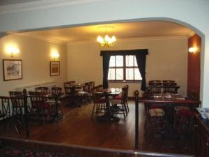 A restaurant or other place to eat at The Bay Horse Inn