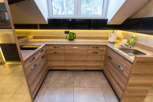 Küche/Küchenzeile in der Unterkunft Villa Winterpol