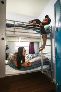 Litera o literas de una habitación en USA Hostels Hollywood