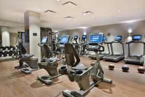 The fitness center and/or fitness facilities at The Statler Dallas, Curio Collection By Hilton