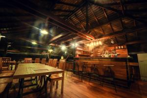 A restaurant or other place to eat at Panvaree The Greenery