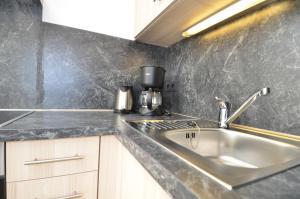 Küche/Küchenzeile in der Unterkunft Villa Annika - Apt. 11