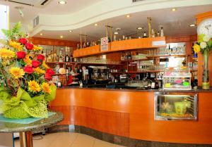 Lounge nebo bar v ubytování Albergo Santa Margherita