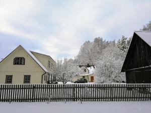 Männi Farm Holiday House during the winter