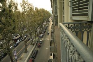 A balcony or terrace at Loca