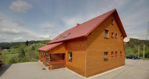 Budova, v ktorej sa horská chata nachádza