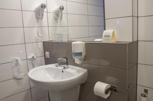 Łazienka w obiekcie Eurohotel Katowice