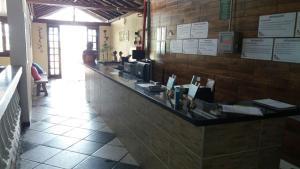 Um restaurante ou outro lugar para comer em Hotel H Caraguatatuba