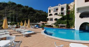 The swimming pool at or near Hotel Carasco