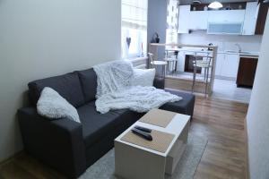 A seating area at Apartment in the city center