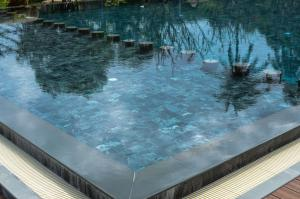 The swimming pool at or near Wang Sai Resort