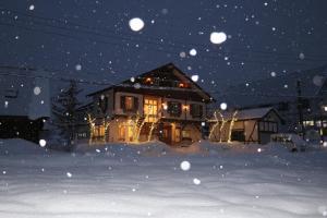 White Silver Hakuba during the winter