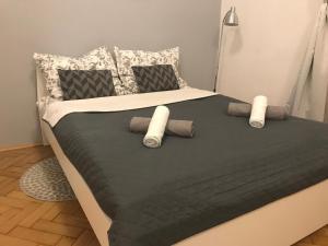 Posteľ alebo postele v izbe v ubytovaní Kazimierz Poland Apartments