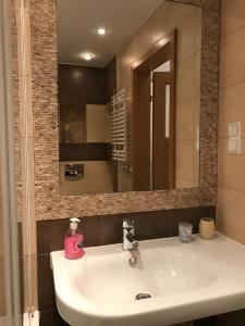 Kúpeľňa v ubytovaní Kazimierz Poland Apartments