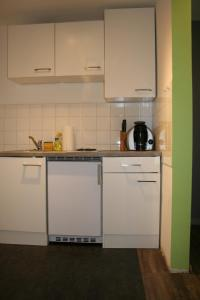 A kitchen or kitchenette at Central Apartment Nürnberg