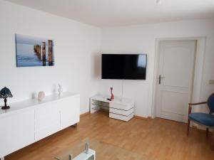 TV/Unterhaltungsangebot in der Unterkunft Hotel Domke Haus an der See