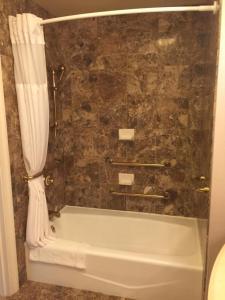 A bathroom at Hilton Lac-Leamy