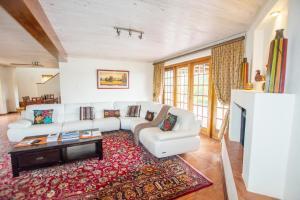 Istumisnurk majutusasutuses Hoyohoyo Koeltehuis Farm Lodge