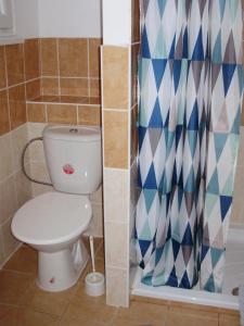 Koupelna v ubytování Penzion U Remízky