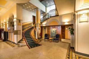منطقة الاستقبال أو اللوبي في فندق بنتهاوس باي آرت ديكو مونتانا