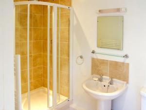 A bathroom at Dairy Apartment 2