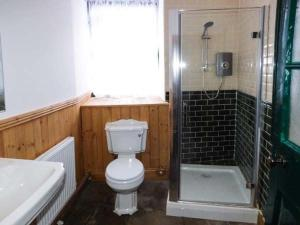 A bathroom at The Clocking In House