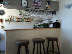 The lounge or bar area at Bei Markos