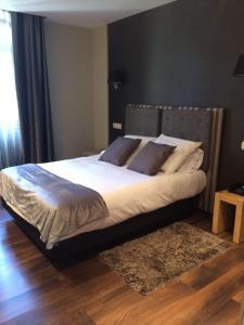 Cama o camas de una habitación en Hotel Xana Cecos