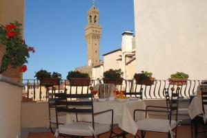 Um restaurante ou outro lugar para comer em Hotel degli Orafi