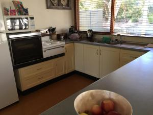 A kitchen or kitchenette at The Shelter @ Robe