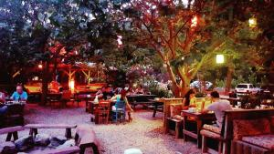 A restaurant or other place to eat at Olympos Deep Green Bungalows