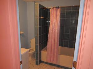 A bathroom at Calabash Mountain Villa