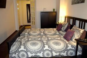 Łóżko lub łóżka w pokoju w obiekcie Fiesta Apartament