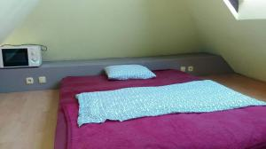 A bed or beds in a room at Folks Village Plowce House