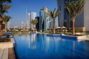 The swimming pool at or near JW Marriott Marquis Hotel Dubai