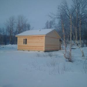 База отдыха Гольфстрим зимой