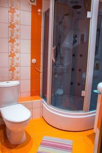 Ванная комната в Apartment Universitetskaya 7