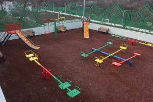 Children's play area at Multi Rest House