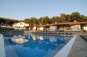 The swimming pool at or near Wellness Resort Ostrovche