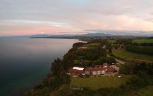 Hotel Borde Lago a vista de pájaro